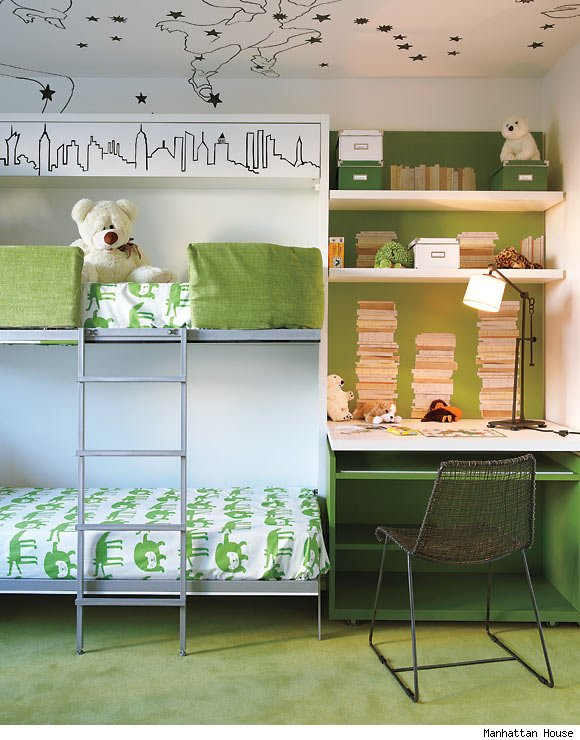 A child's bedroom designed by Celerie Kemble