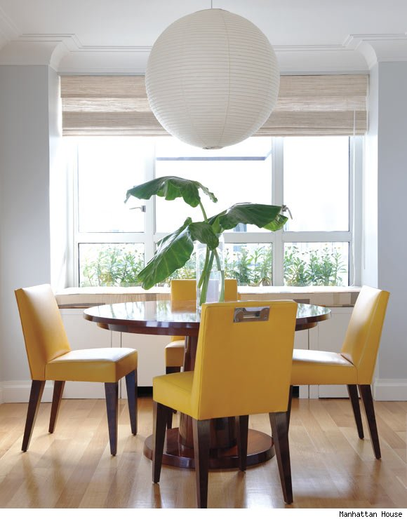 A dining room designed by Rita Konig