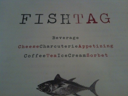 Fishtag Menu