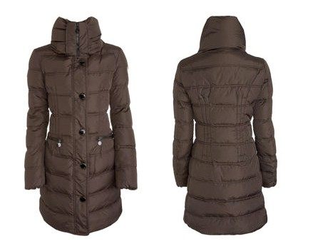 Moncler Vos Long Down Jacket