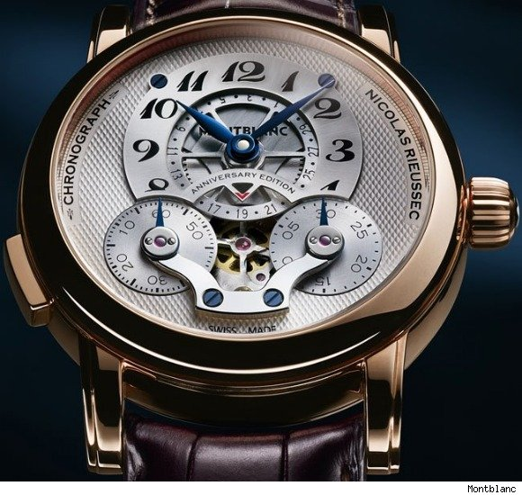 Montblanc Nicolas Rieussec Chronograph Anniversary Edition Watch