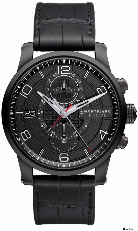 Montblanc Timewalker TwinFly Chronograph Watch