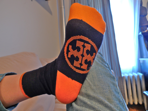 Tory Burch Travel Socks