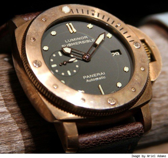 Panerai Luminor Submersible 1950 Watch In Bronze