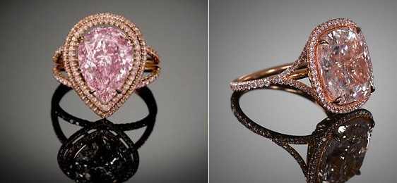 pink diamonds rau antiques