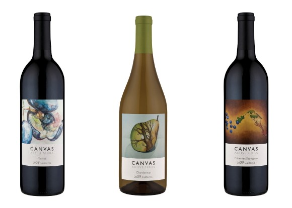 canvas wine