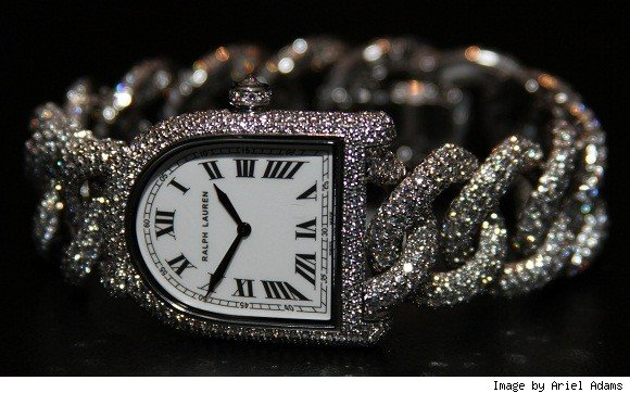 Ralph Lauren Stirrup Diamond Link Watch