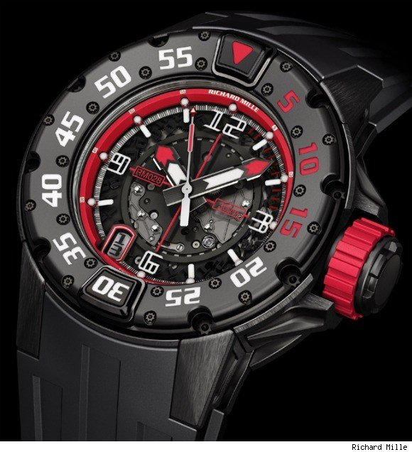 Richard Mille RM 028 Americas Limited Edition Dive Watch