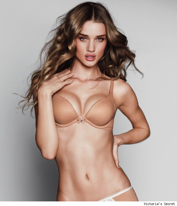 Mystery of Rosie Huntington-Whiteley's New Victoria's Secret Campaign Solved