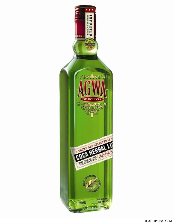 AGWA de Bolivia Coca Leaf Liquor