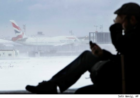 Travelers' rights for compensation due to canceled flights during the blizzard of December 2010