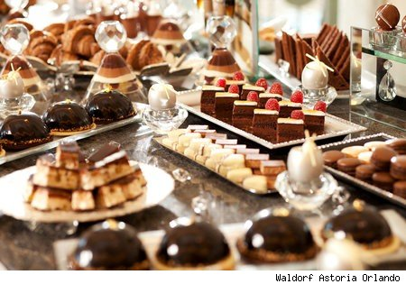 Chocolate Extravaganza at the Waldorf Astoria Orlando