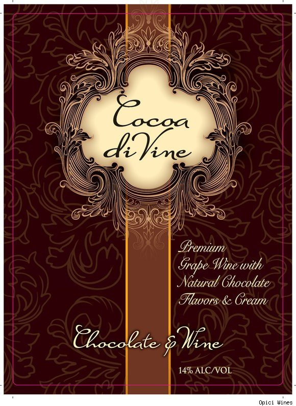 Cocoa di Vine chocolate wine