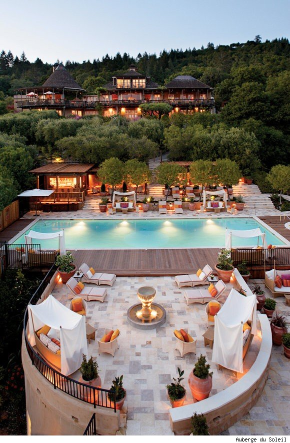 Auberge du Soleil in Napa Valley offers milk chocolate bath for Valentine's Day