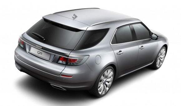 Saab Previews New 9-5 SportCombi