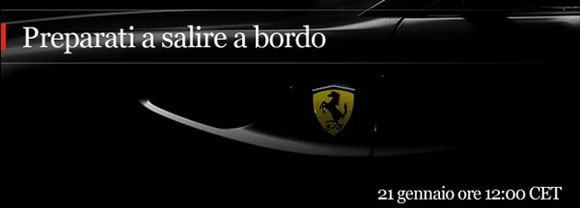 New Ferrari Flagship Grand Tourer Coming Soon
