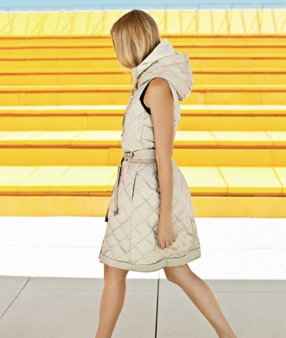 MaxMara Cube Coat Spring 2011
