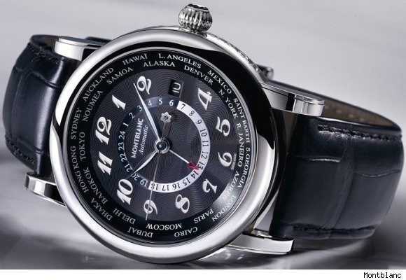 Montblanc Star Worldtime Automatic Watch