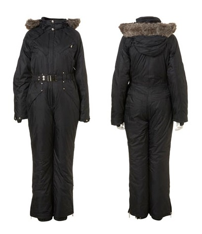 Top Shop Faux Fur Snow Suit