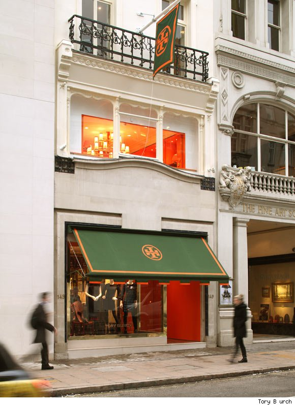 Tory Burch Opens Boutique on Bond Street in London