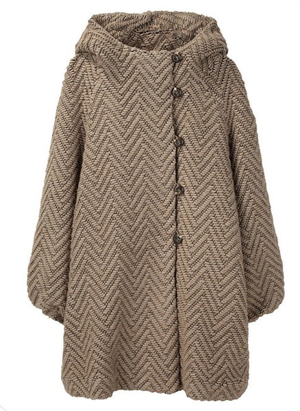 Tsumori Chisato ZigZag Loop Coat