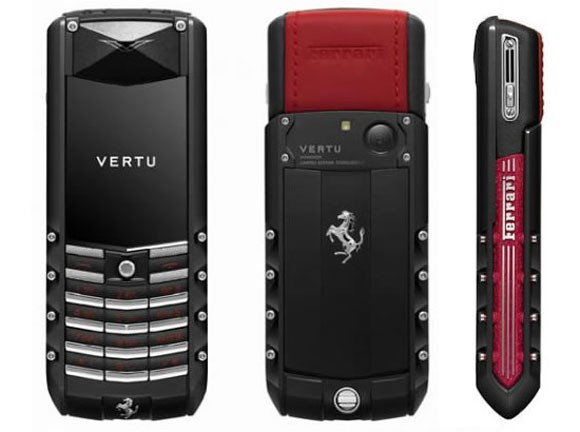 Vertu Ascent Ti Ferrari Edition