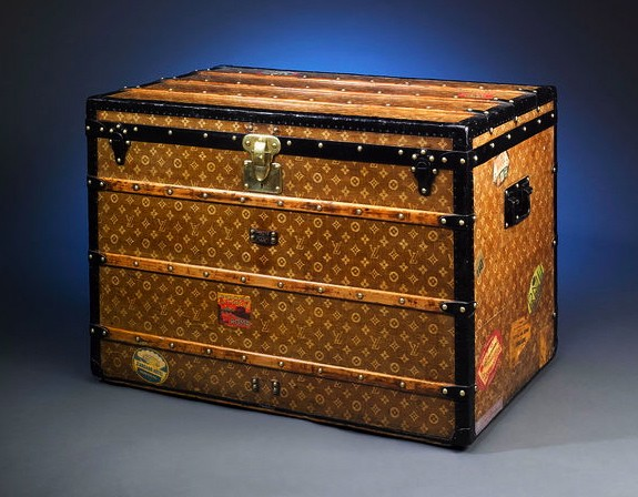 Vintage Louis Vuitton Steamer Trunk for $22,500