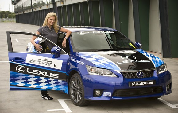 Celebrities to Race the Lexus CT 200h at the Australian Grand Prix