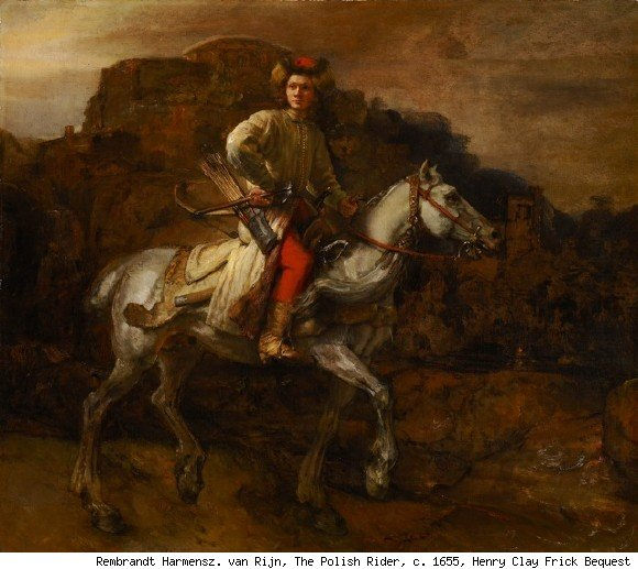 rembrandt, the polish rider