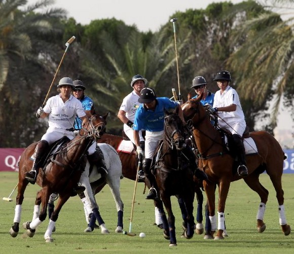 Home Team Wins Cartier International Dubai Polo Challenge