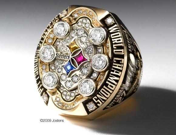 super bowl ring pittsburgh steelers
