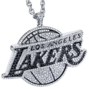 los angeles lakers game pendant