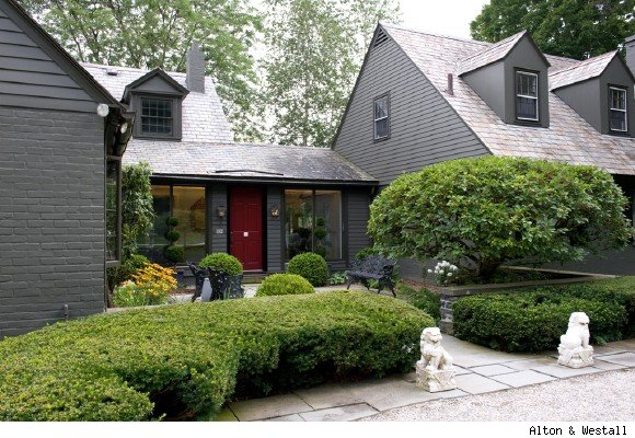 Red Door Grey House gray house red door | grey houses for mum | pinterest | grey