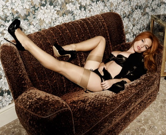 Josephine de la Baume is New Agent Provocateur Star