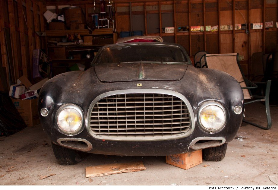1953 Ferrari 212 Inter Coupe