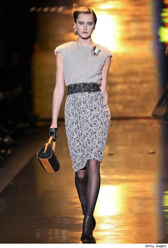 Badgley Mischka Fall 2011 Collection at NY Fashion Week