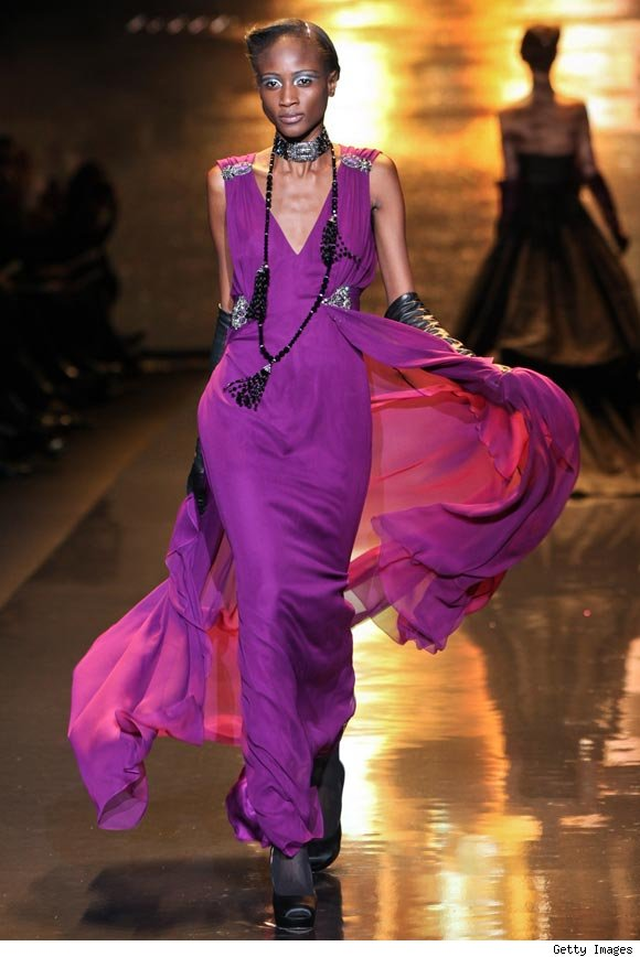 Badgley Mischka Fall 2011 at NY Fashion Week