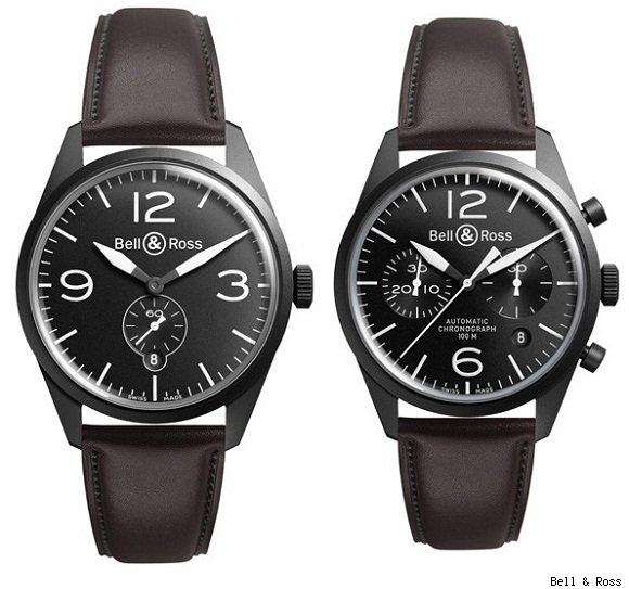 Bell &amp; Ross Vintage Original Carbon Watches