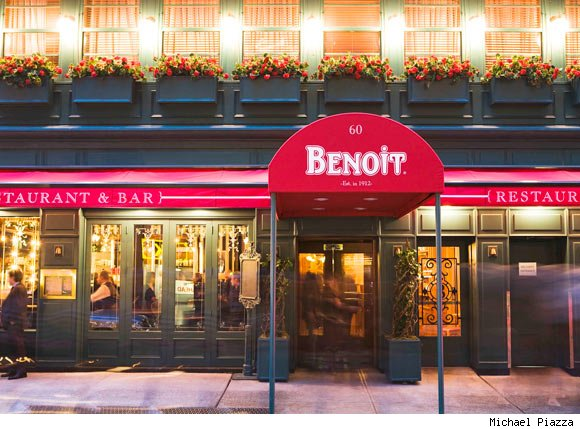 Alain Ducasse's Benoit New York Featuring Truffles in February
