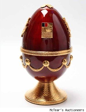 george best faberge egg