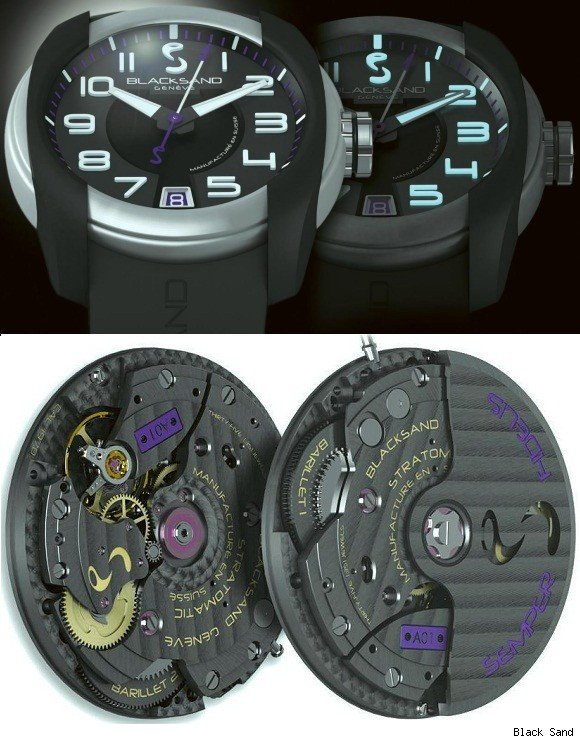 Black Sand Uniformity Watch
