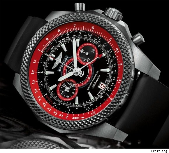 Breitling for Bentley Supersport Light Body Chronograph Watch
