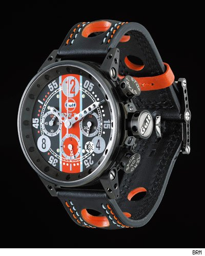 BRM Limited Edition Gulf Oil Watches