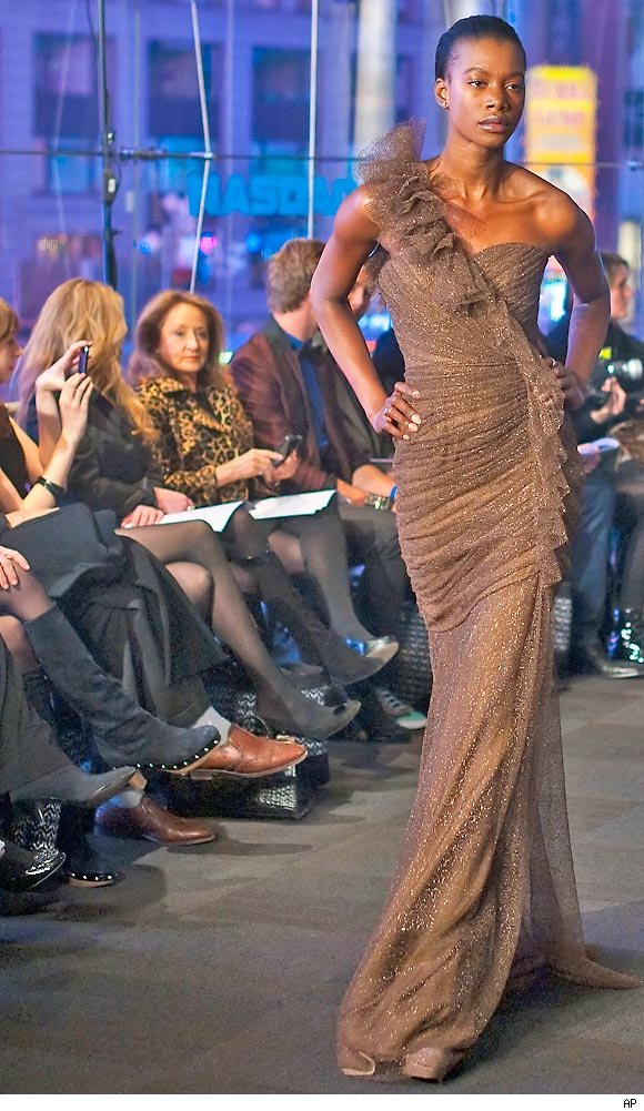 Carmen Marc Valvo Fall 2011 fashion show