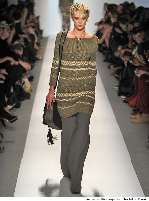 The Charlotte Ronson Fall 2011 Fashion Show