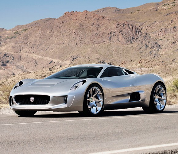 Jaguar C-X75 Wins Louis Vuitton Classic Concept Award