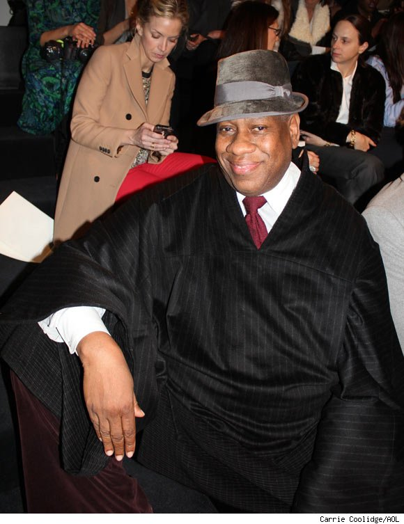 Andre Leon Talley attends the Ralph Lauren Fall 2011 Collection