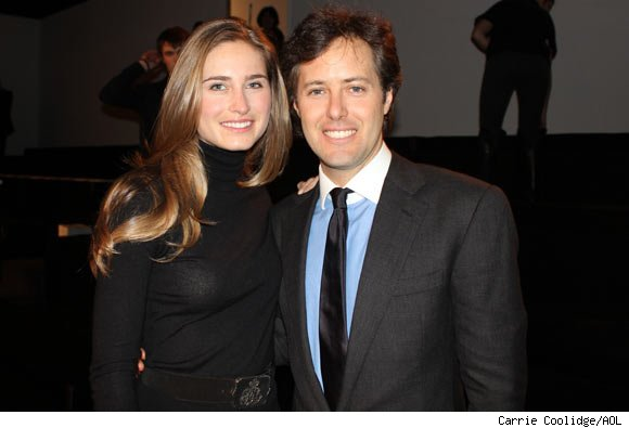 David Lauren and Lauren Bush at the Ralph Lauren Fall 2011 Collection Presentation