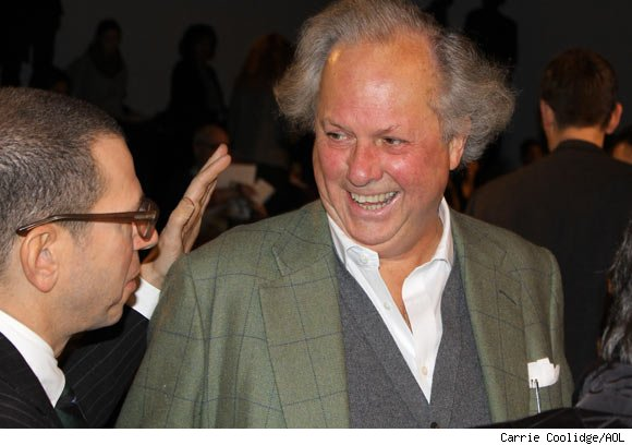 Vanity Fair Editor Graydon Carter Attends the Ralph Lauren Fall 2011 Collection Presentation
