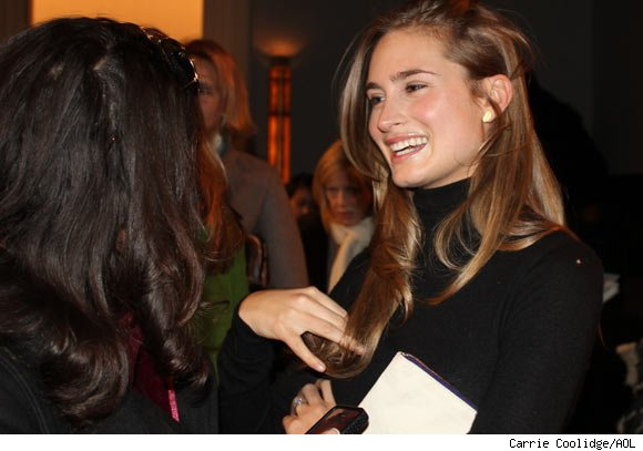 Lauren Bush attends the the Ralph Lauren Fall 2011 Collection Presentation